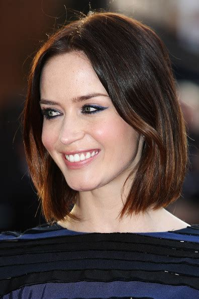 Emily Blunt Hairstyles by Emily Blunt Bob Haircut Newhairstylesformen2014
