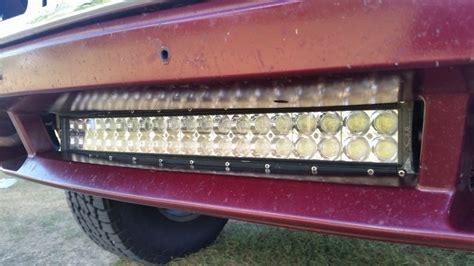 Custom Led Light Bar 20 Inch Offroad Led Light Bar Bumper Kit For 2003 2013 Gmc Olb