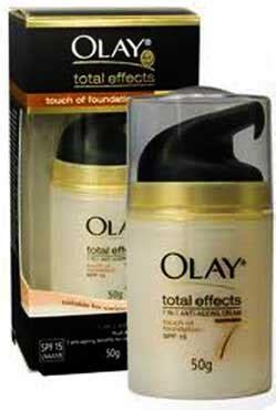 Olay Total Effect 20 Gram olay total effect spf15 โอเลย โทท ล เอฟเฟ คท 7 in 1 50g