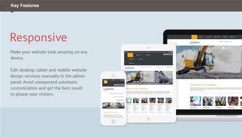 html responsive design iframe industrial moto cms 3 template 53238 templates com