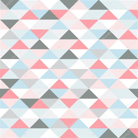 pattern with different shapes retro muster von geometrischen formen pastel farbige