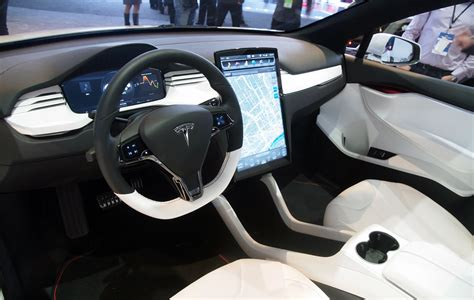 tesla inside tesla model x interior