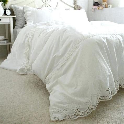 White Duvet Cover King White Lace Duvet Covers De Arrest Me