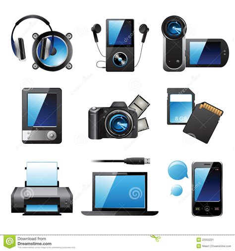 Electronic Devices Stock Image   Image: 22552221