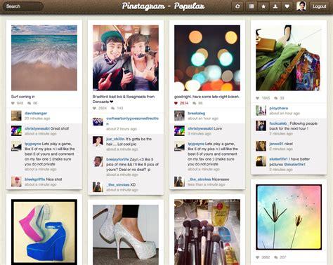 layout instagram online pinstagram is pinterest and instagram baby instagramers com