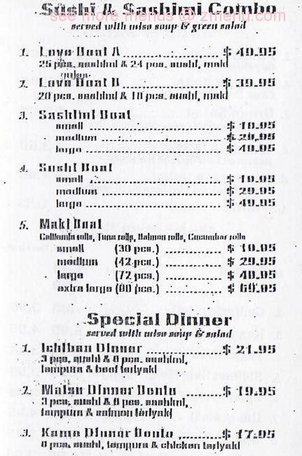 table pizza prunedale ca menu of ichiban sushi restaurant prunedale