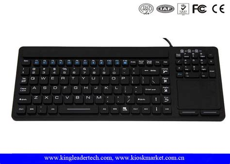 Numeric Keyboard M Tech slim waterproof silicone keyboard with touchpad and