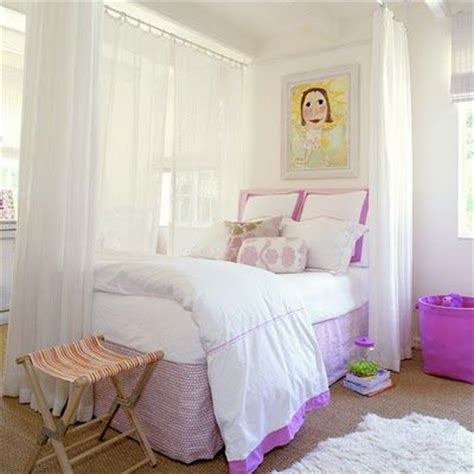 separate room with curtains little girls room i love the curtains to separate the