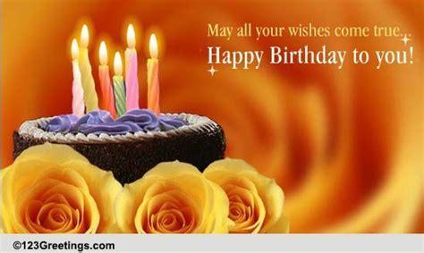 Happy Birthday My Dear Friend! Free For Best Friends