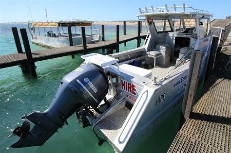 fishing boat rental service exmouth boat hire for a fraction of the cost of a tour