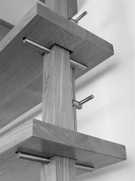 Adjustable Height Shelf by Adjustable Height Desk Landing Shelving System Detail