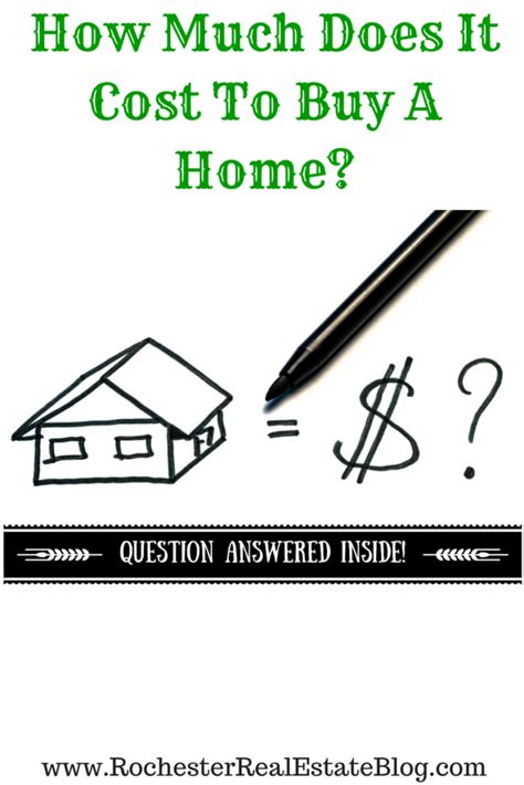 how much does it cost for how much does it cost to buy a home