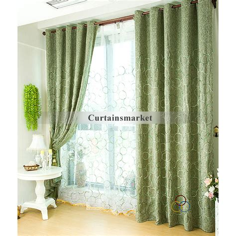 green color curtains green color patchwork curtains uk blackout