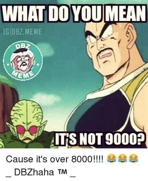Over It Meme - 25 best memes about its over 8000 its over 8000 memes