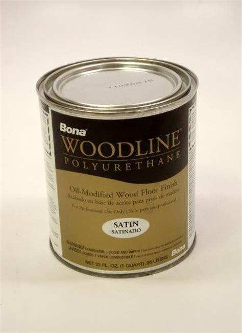 Bona Woodline Polyurethane Satin Oil Based Hardwood Floor