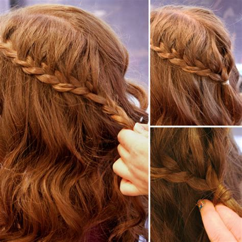 hiw to oin braids back for military how to create a cascade braid popsugar beauty