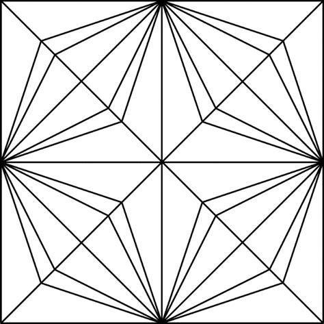 geometric pattern rotation geometric block pattern 14 clipart etc