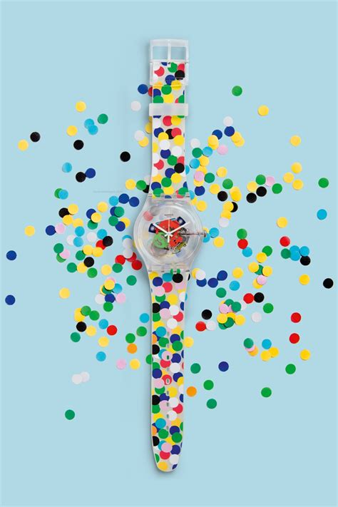 Lifestyle Original Swatch Spot The Dot Suoz213 swatch special spot the dot nuevos relojes