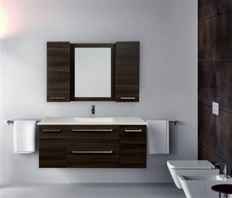 modern powder room vanity floating vanities in ontario modern powder room toronto by visionary kitchens