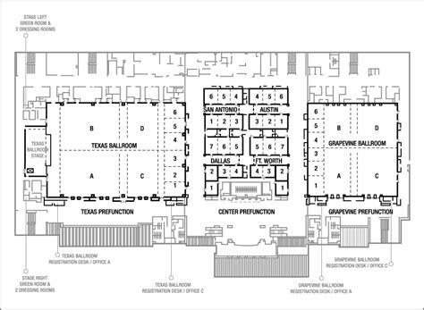 dallas convention center floor plan ballrooms in dallas floor plans for gaylord texan resort