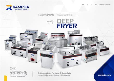 Harga Mesin Merk Ramesia gas fryer jual dan harga mesin penggorengan gas