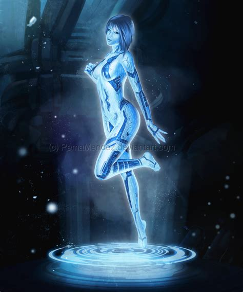 hologramm le cortana by pemamendez on deviantart