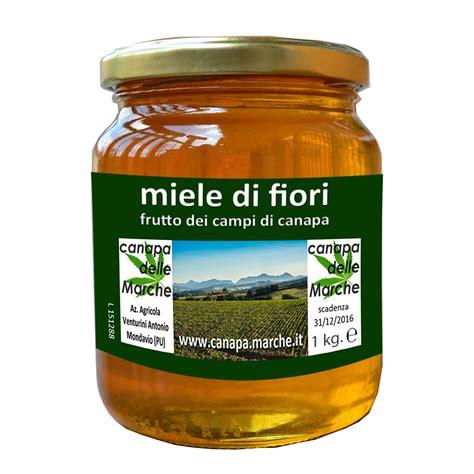 miele di fiori miele alla canapa