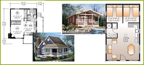 Diy House Plans tiny little and small house plans little house in the