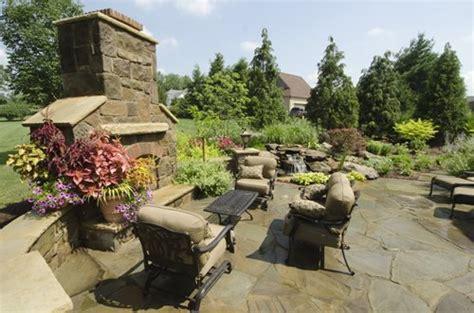 Tuscan Backyard Terrace Landscaping Network