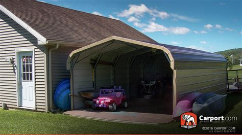 24x24 Carport Wide Carport 20 X 24 X 6 Shop Metal Carports
