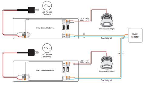 dali led driver wiring diagram 30 wiring diagram images
