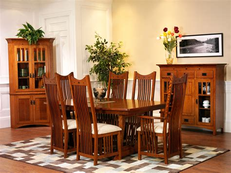 mission dining room chairs new classic mission dining room amish furniture designed