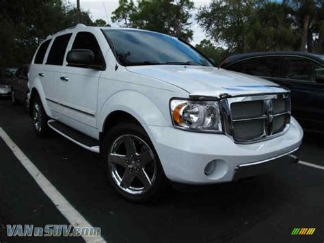 auto body repair training 2008 dodge durango electronic toll collection 2008 dodge durango limited 4x4 in bright white 138475 vannsuv com vans and suvs for sale