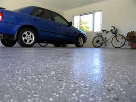 Terraflake Garage floor coating from Nuplex