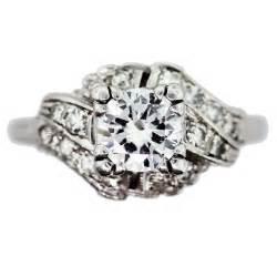 platinum vintage wedding rings vintage engagement ring in antique platinum