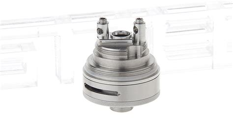 Serpent Mini 25mm Rta Atomizer Silver Authentic 1 21 58 authentic wotofo serpent rta rebuildable tank atomizer 4ml stainless steel glass
