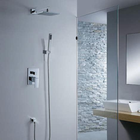 set doccia set doccia completo da incasso con soffione doccino