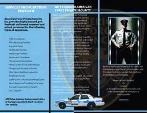Security Company Brochure Template by Allstate Security Services Security Companies And Guards