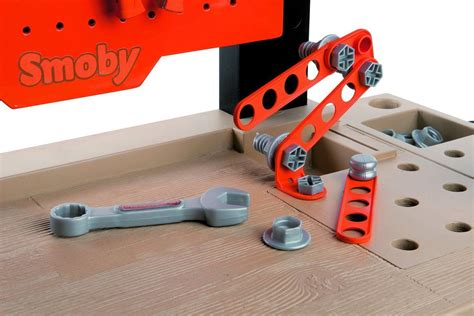 black and decker toy tool bench smoby kids black decker bricolo centre childrens tool