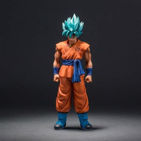 Ngf55 Figure Fzo Songoku Normal Figure Zero 2018 z saiyan god goku figure blue hair goku 26cm pvc
