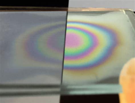 interference pattern using white light image of the week optics photonics news