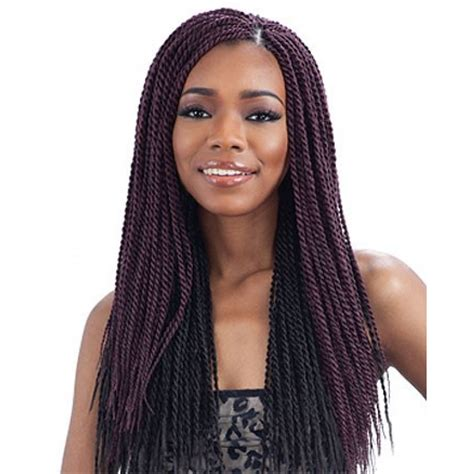 Longch Small freetress braids senegalese twist small braided weave