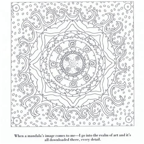 coloring book yourself color yourself calm mandala favecrafts