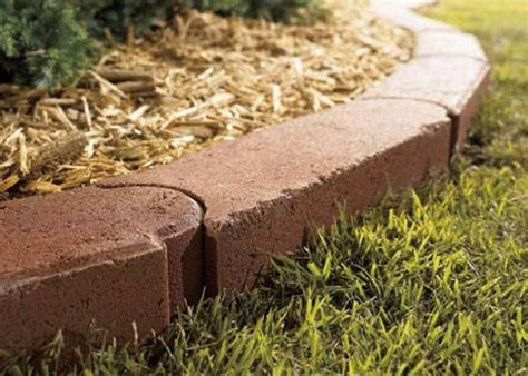 brick garden bed edging brick edging for flower beds how to install it ortega