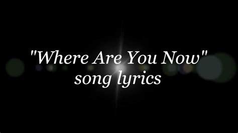 nazareth where are you now lyrics