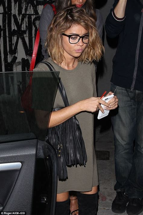 sarah hyland x factor nicole scherzinger nails bohemian chic on night out with