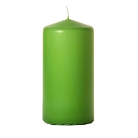 best unscented candles lime green 3x6 unscented pillar candles 6 inch pillar candles