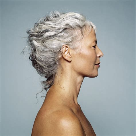 stylish cuts for gray hair 30 stylish gray hair styles for short and long hair