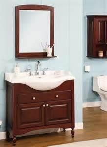 Narrow Bathroom Furniture Stylish Narrow Bathroom Vanities Ideas Pertaining To