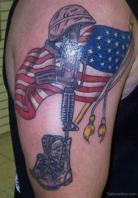 american flag shoulder tattoos flag tattoos designs pictures page 2